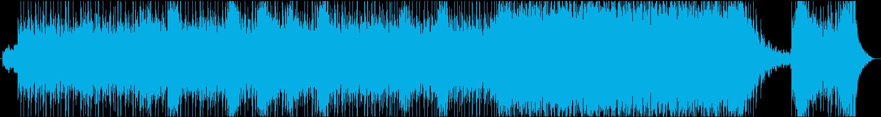 【映画風】緊張感のあるBGMの再生済みの波形