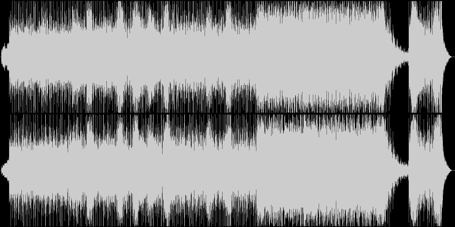 【映画風】緊張感のあるBGMの未再生の波形