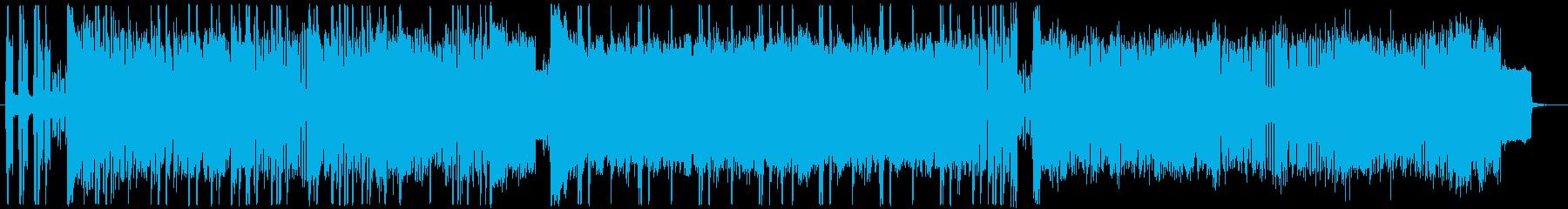 切ない chiptune 002の再生済みの波形
