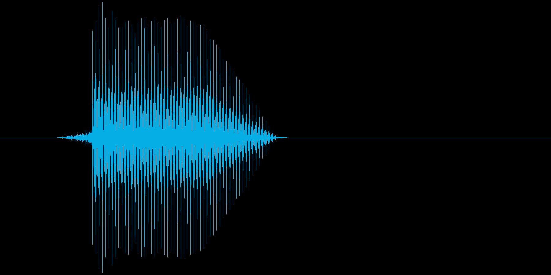 ゲーム(ファミコン風)セレクト音_034の再生済みの波形