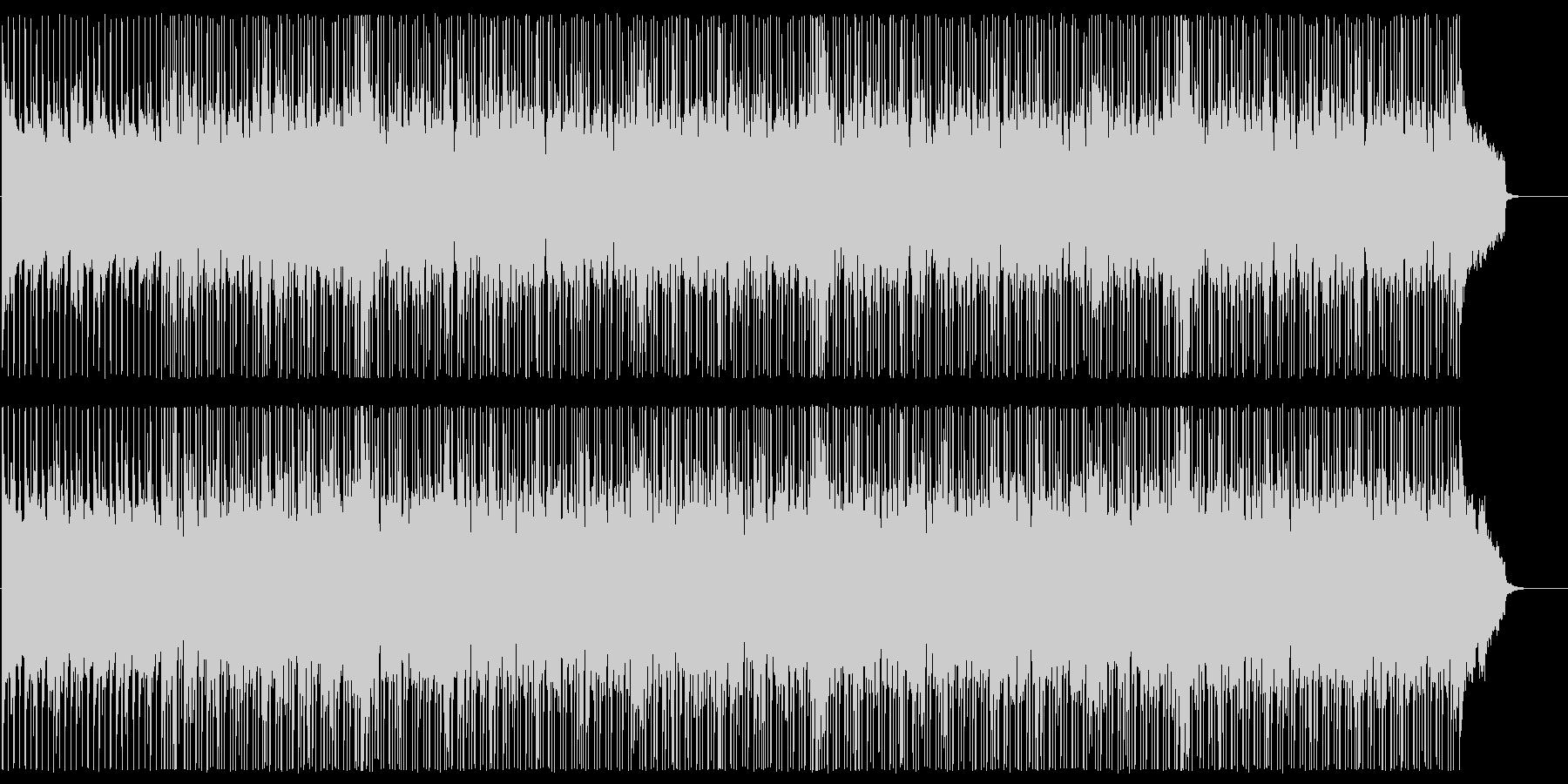 ギターバンドのレトロポップスの未再生の波形