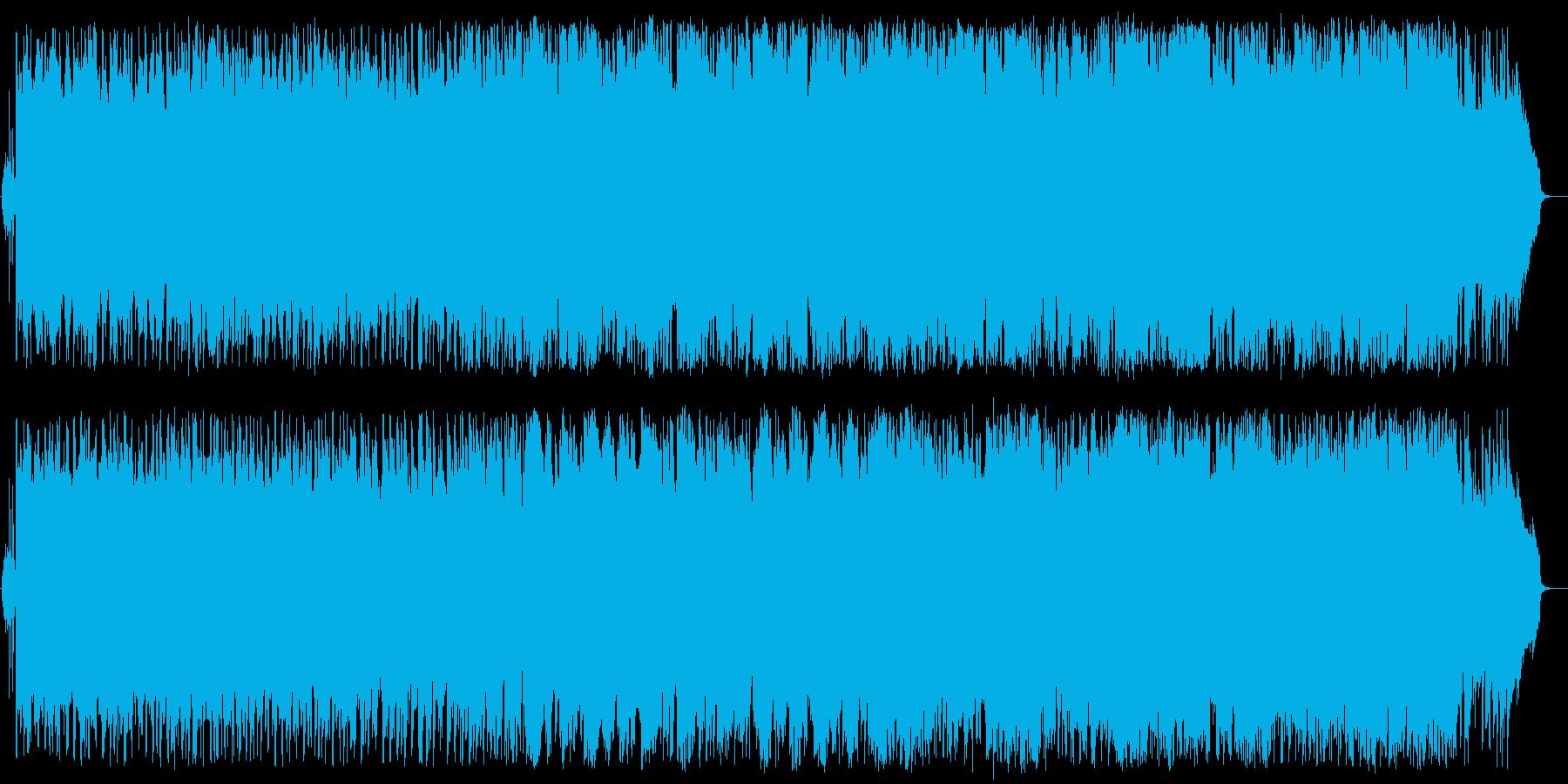 大海原を羽ばたくようなバンドオーケストラの再生済みの波形