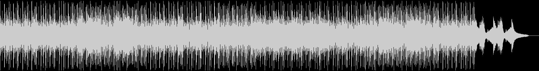 ビバップピアノ風なjazzhiphopの未再生の波形