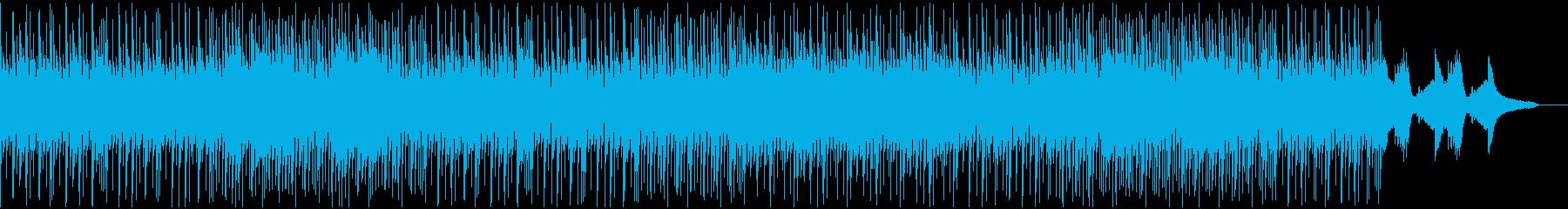 ビバップピアノ風なjazzhiphopの再生済みの波形