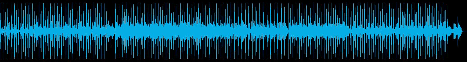 情緒的なhiphopの再生済みの波形