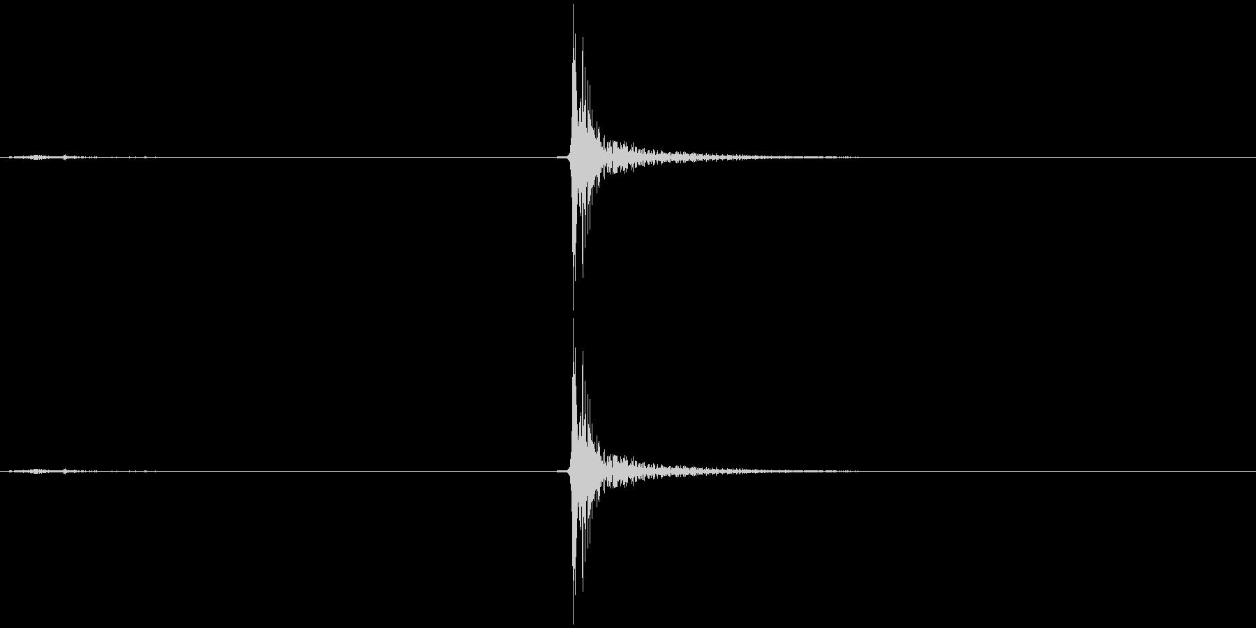 バネ付きラッチ付きビニールスライド...の未再生の波形