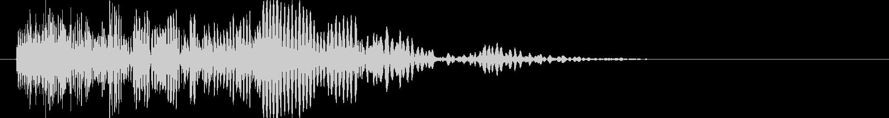 爆発・衝撃波・ソニックブーム5の未再生の波形