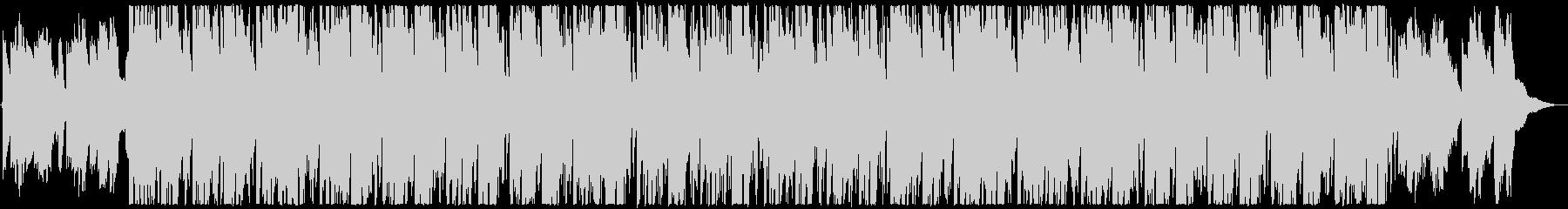 箏と尺八の荘厳な修行の和風曲の未再生の波形