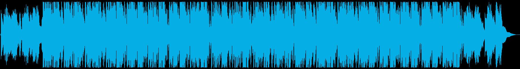 箏と尺八の荘厳な修行の和風曲の再生済みの波形