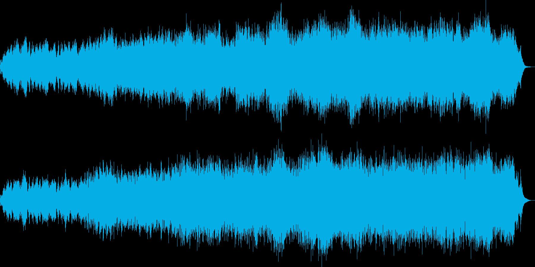 きらびやかで幻想的なオーケストラの再生済みの波形
