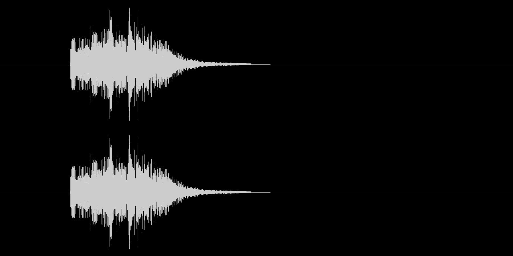 レベルアップ/能力アップ/かわいいの未再生の波形