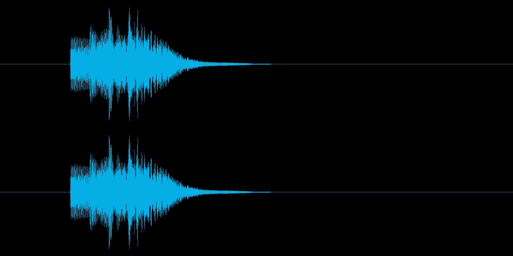 レベルアップ/能力アップ/かわいいの再生済みの波形