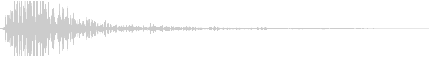 Dubba Baba (Sound with a Western Drawer Closed)'s unreproduced waveform