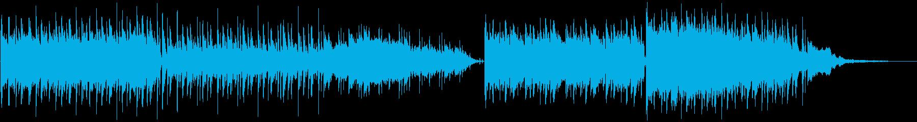 オリエンタルで妖艶なBGMの再生済みの波形