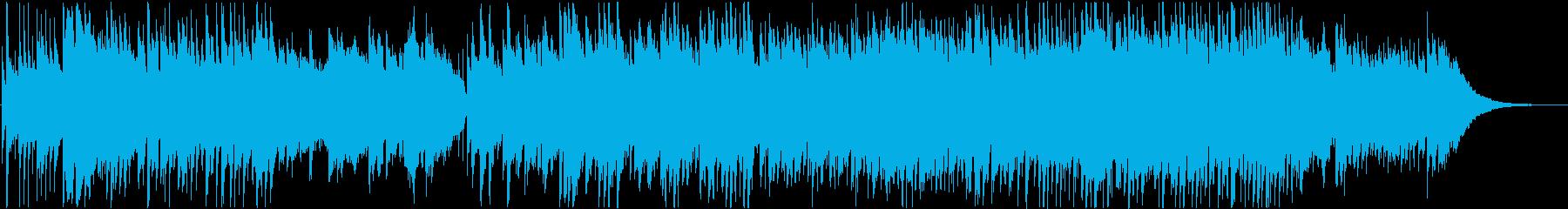 ほっこり優しい、アコースティックバラードの再生済みの波形