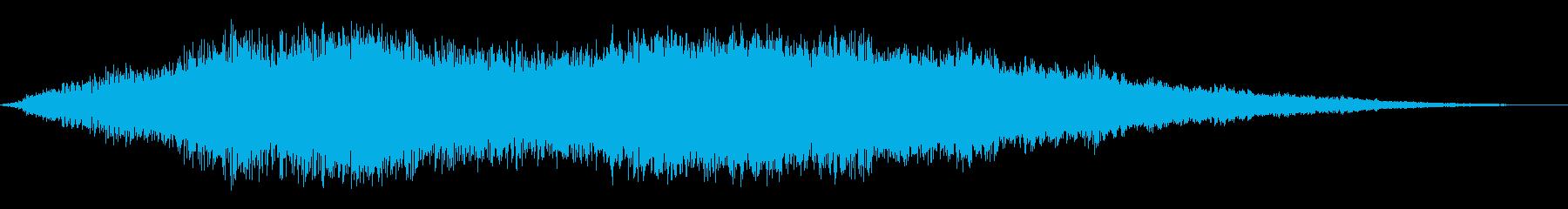 コスミックイベントリングの再生済みの波形