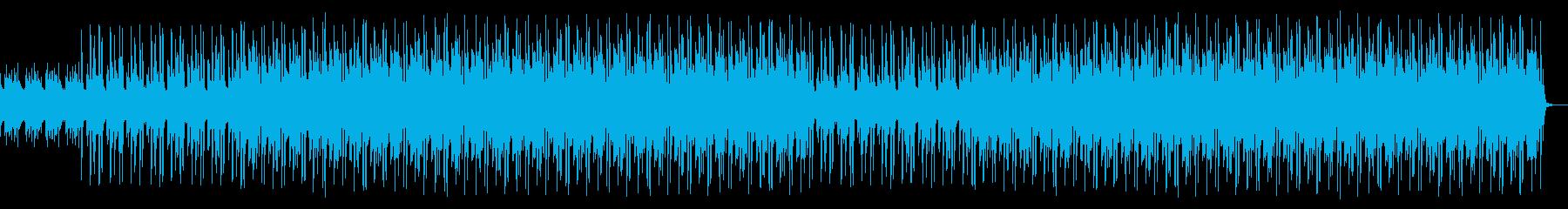 幻想的で神秘的なエンディングヒップホップの再生済みの波形