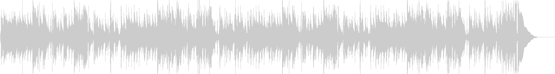 アコギによるスタンダートなブルースの未再生の波形