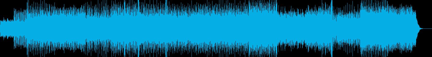 感動的で切ないトランスアンビエントの再生済みの波形
