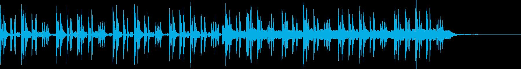 優しい雰囲気のミニマルポップの再生済みの波形