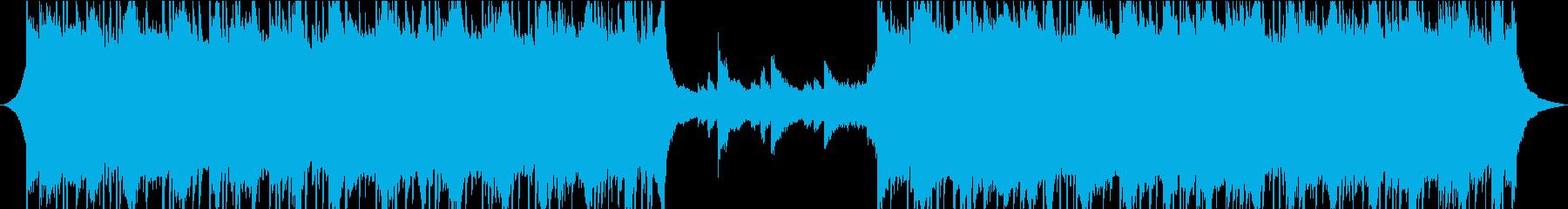 プログレッシブ 交響曲 励ましい ...の再生済みの波形