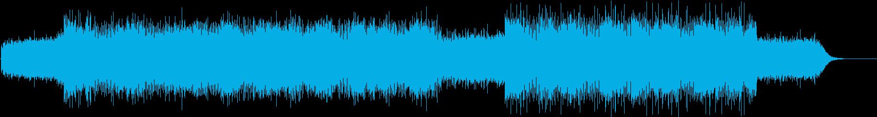 綺麗なピアノのテクスチャーの再生済みの波形