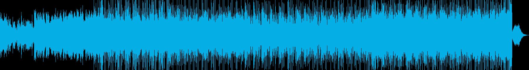 レトロなシンセサウンドで、明るく表現の再生済みの波形