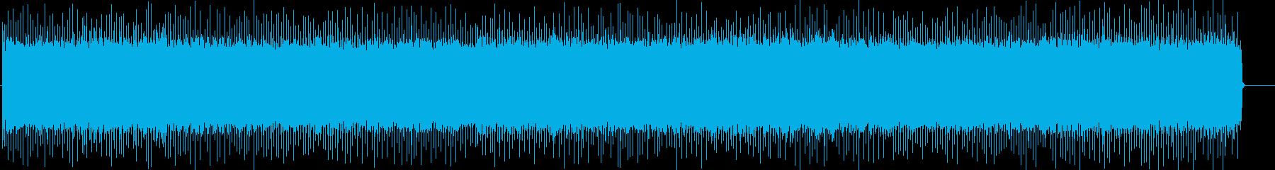胸熱いスポーツハイライト向けハードロックの再生済みの波形