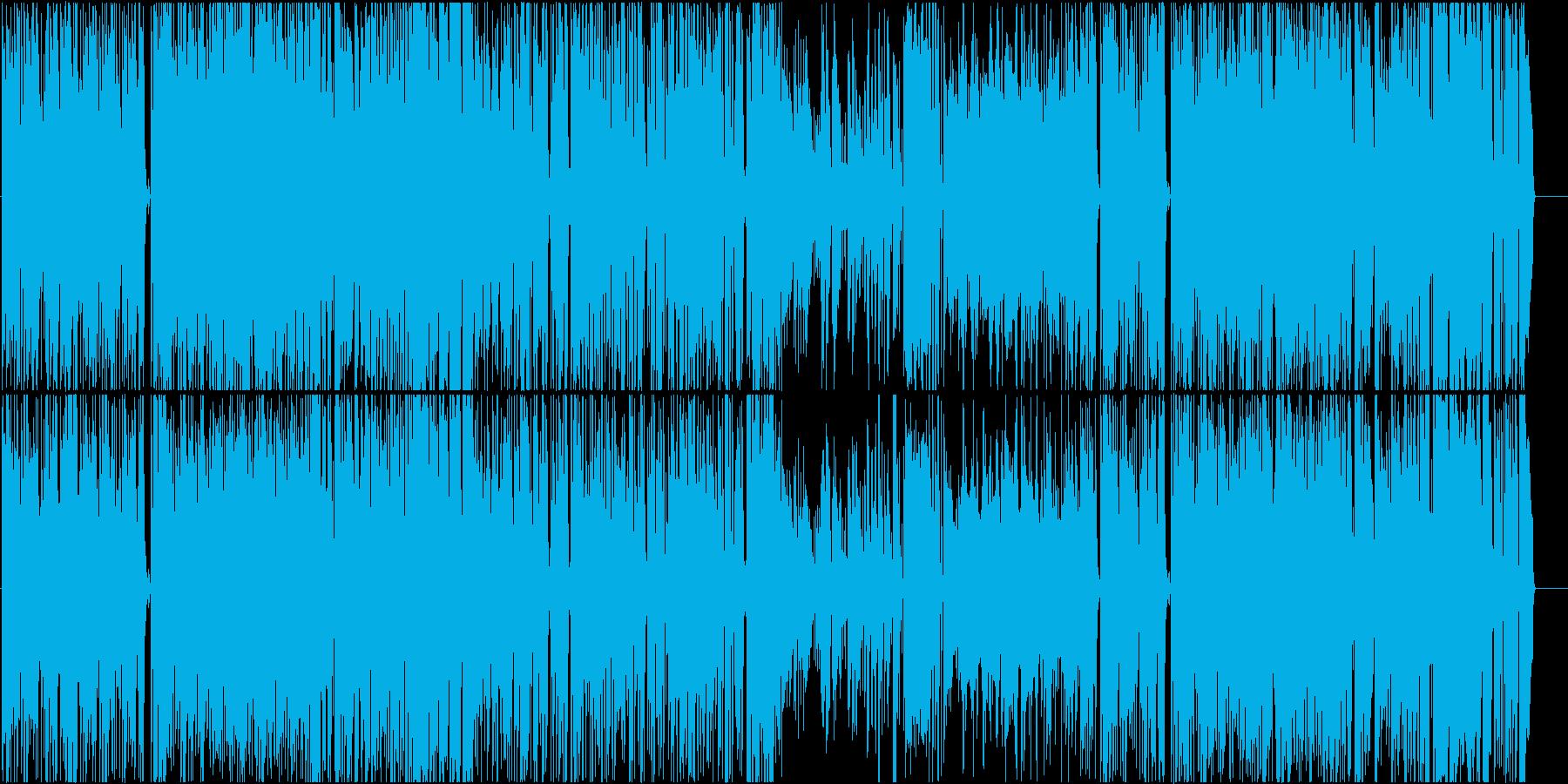 ブルース アクティブ 明るい 感情...の再生済みの波形