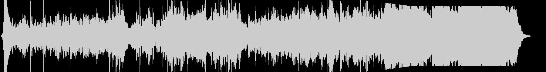 ファンタジーな澄んで美しいフルオケ音楽の未再生の波形