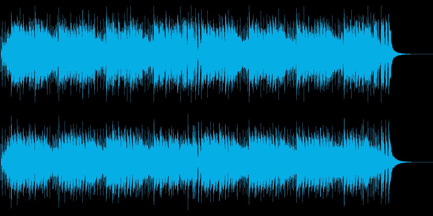 おバカなノリのコミカルパンクの再生済みの波形