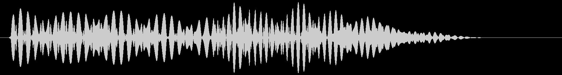 ポコッ(ボタン音・プッシュ音・決定音)の未再生の波形