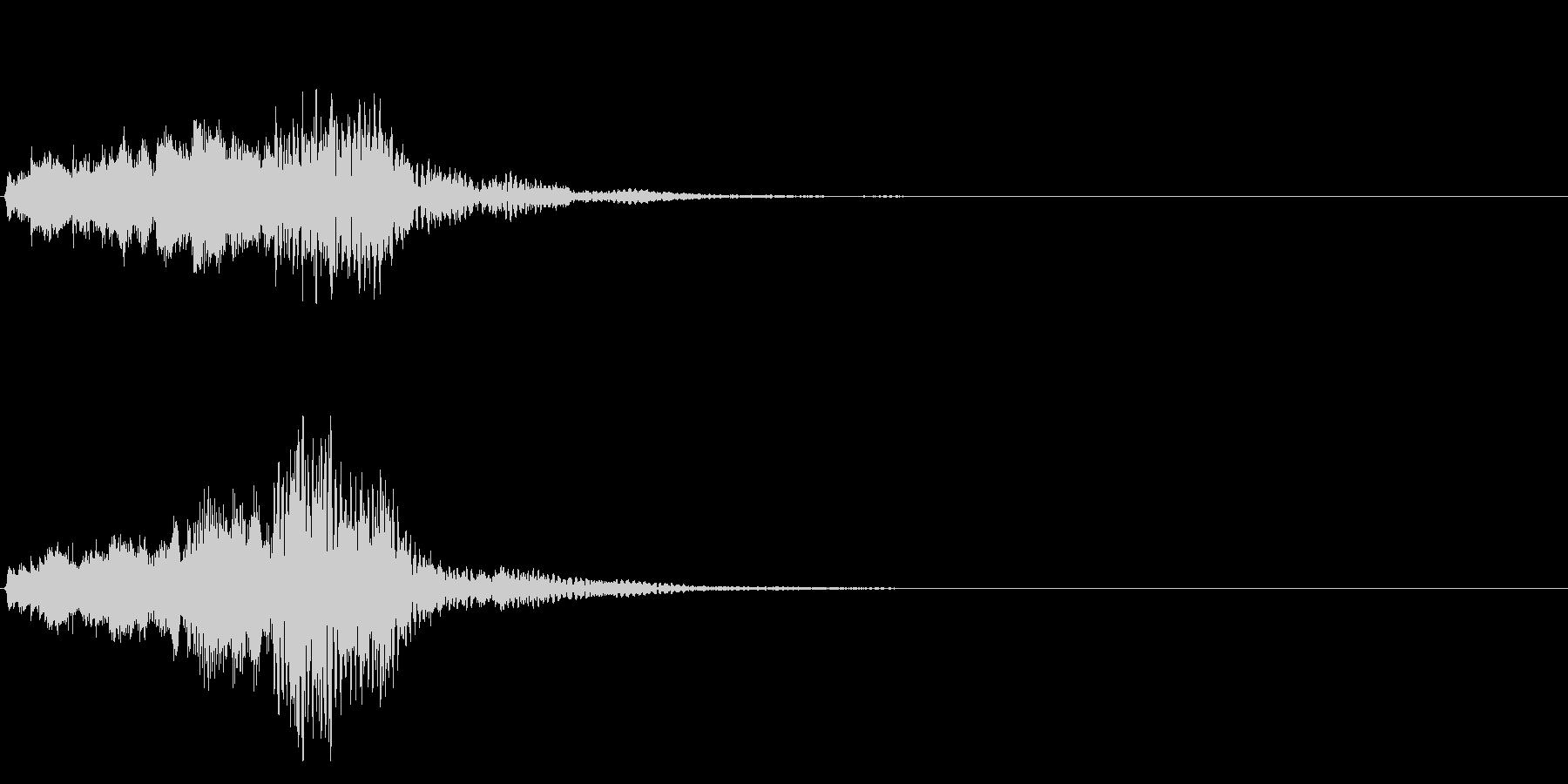 ハープ・下降_2-3の未再生の波形