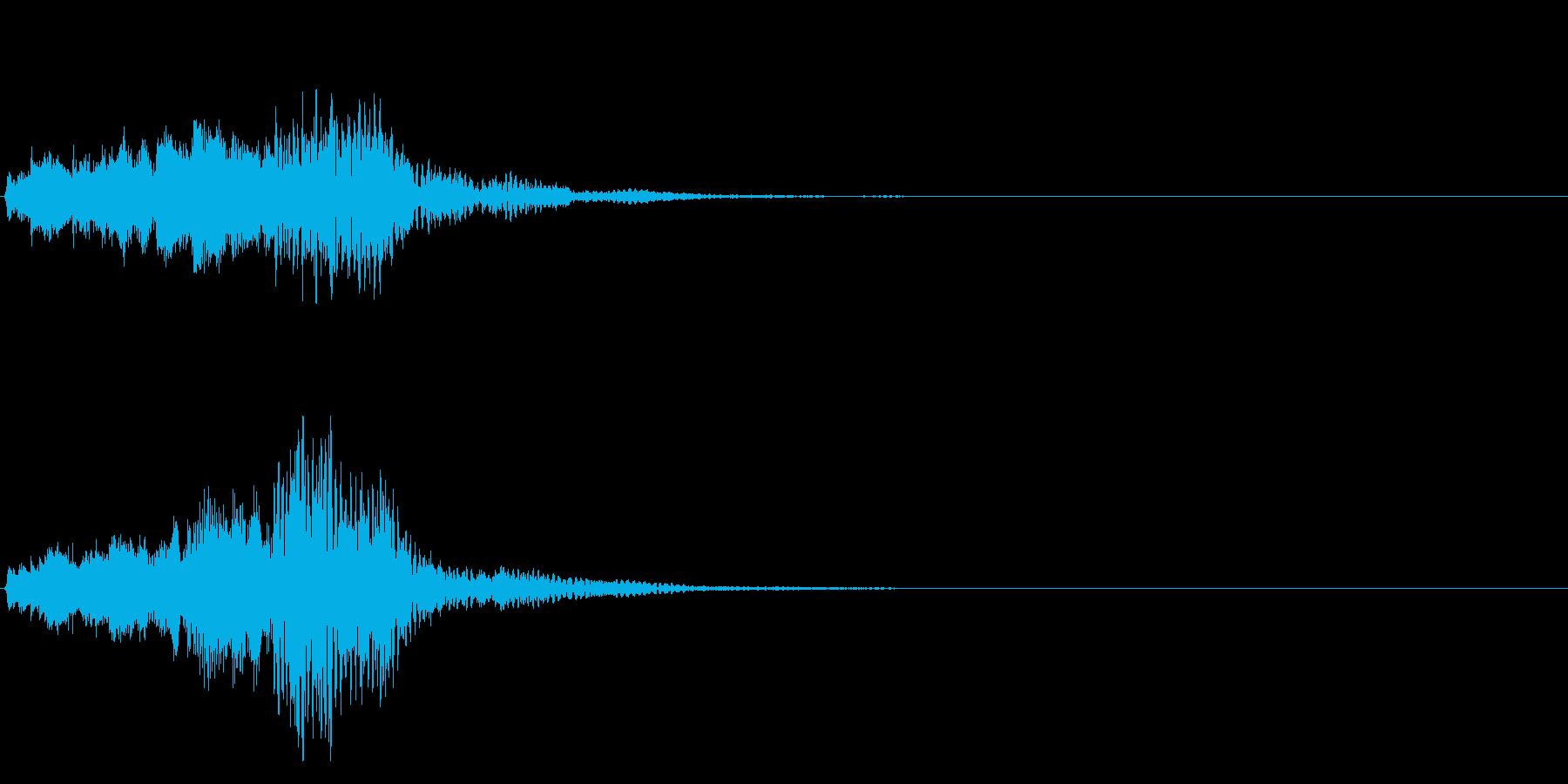 ハープ・下降_2-3の再生済みの波形