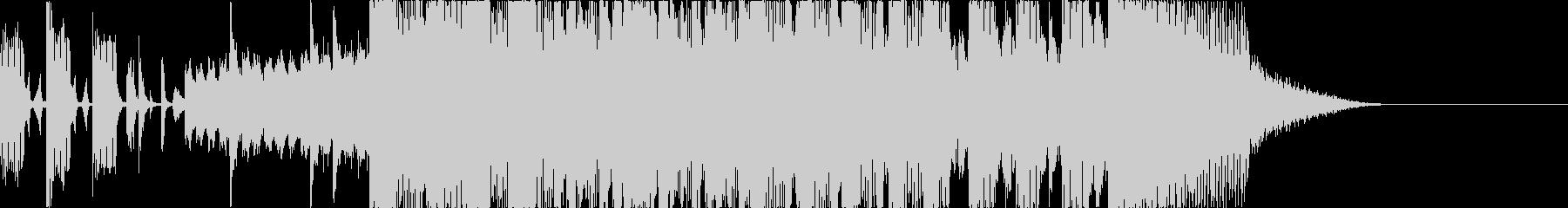 沖縄っぽいアタック音の未再生の波形