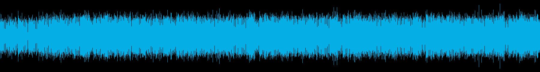 【ループ仕様】緊張感ある歪んだサウンドの再生済みの波形