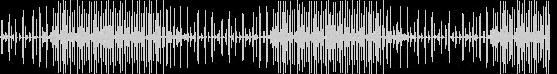 ディープでムーディなハウスミュージックの未再生の波形
