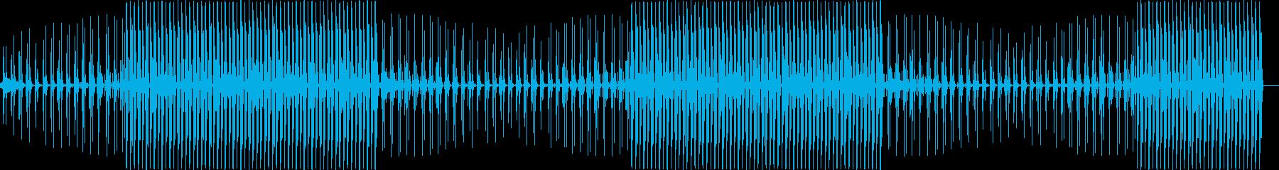 ディープでムーディなハウスミュージックの再生済みの波形