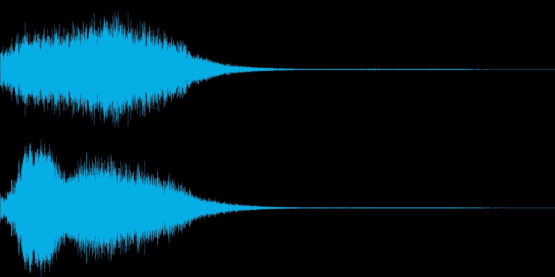 【ホラーゲーム】場面転換_03の再生済みの波形