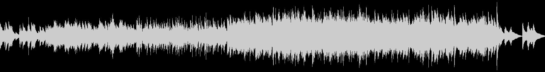 ノスタルジックなバラード曲(ループ仕様)の未再生の波形