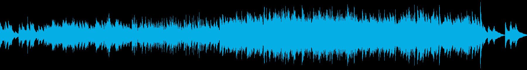 ノスタルジックなバラード曲(ループ仕様)の再生済みの波形