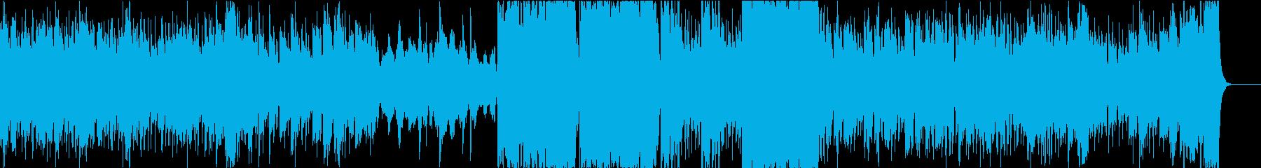 ファンタジックでのどかな雰囲気 の再生済みの波形