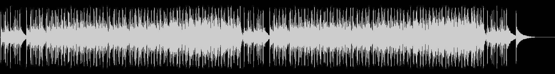 軽快なフレンチ系ポップ/ボサノバの未再生の波形