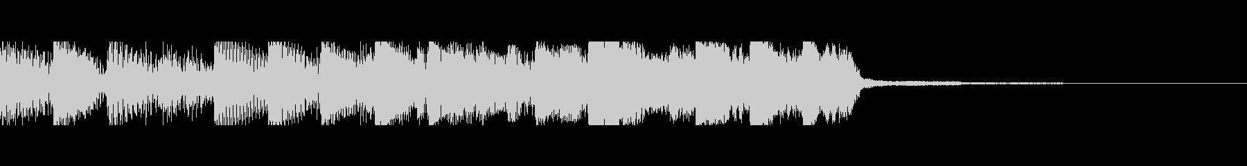 パチンコ的アイテム獲得音07(電子音)の未再生の波形