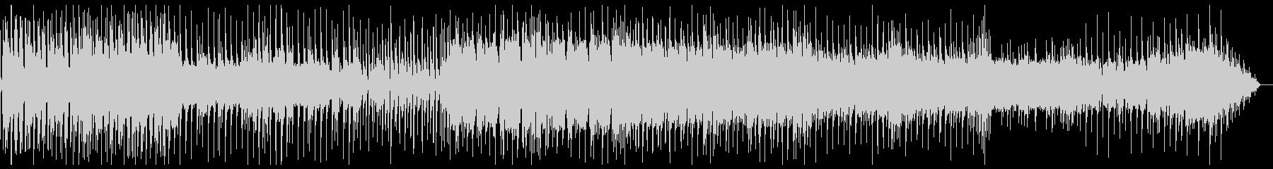 スローテンポなレトロウェーブの未再生の波形