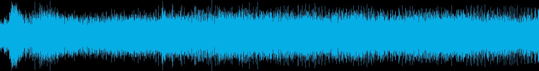 小型ボートのエンジン始動音(アラスカ)の再生済みの波形