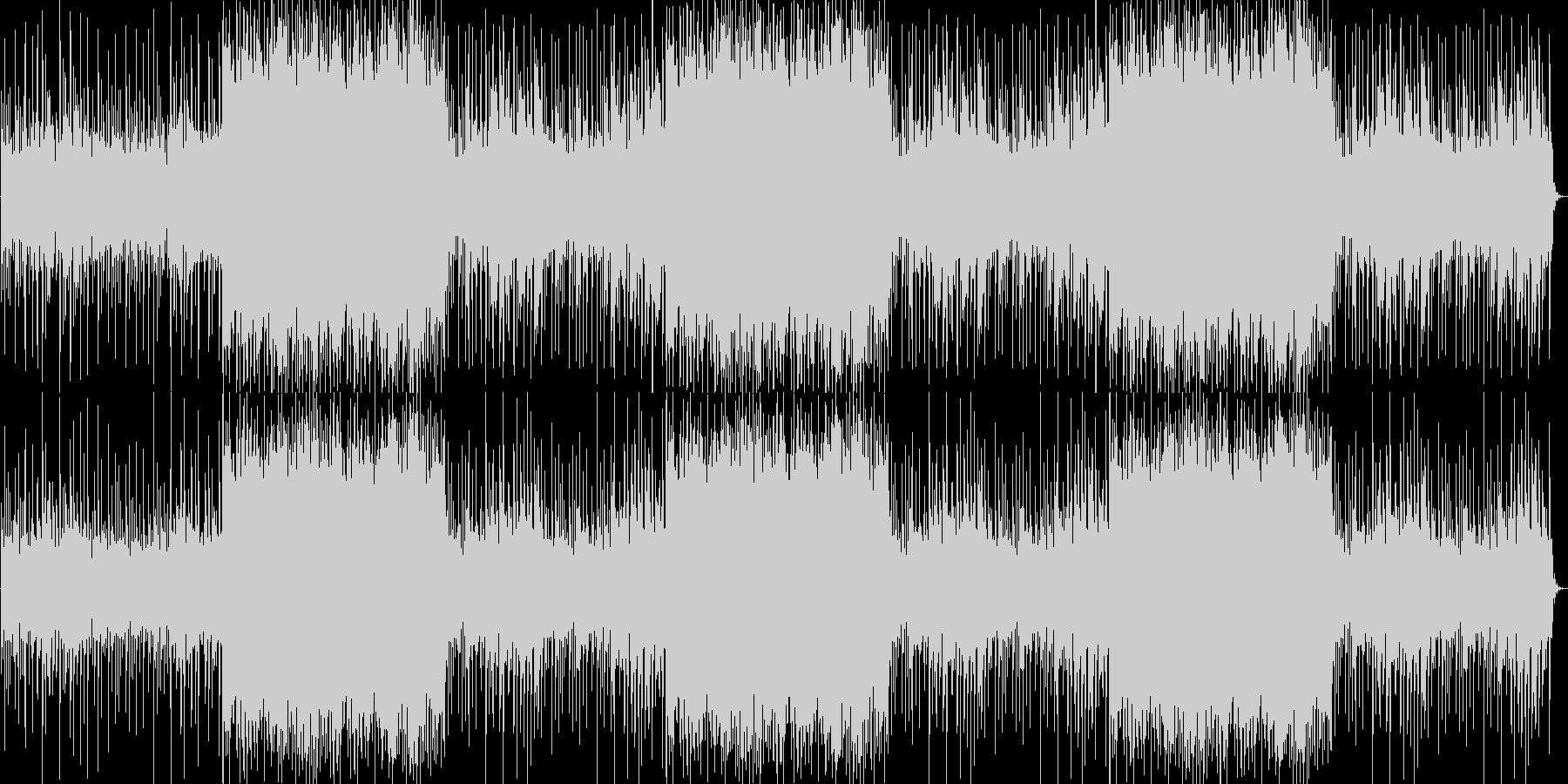 ギターとピアノがエモくて切ないロック調の未再生の波形