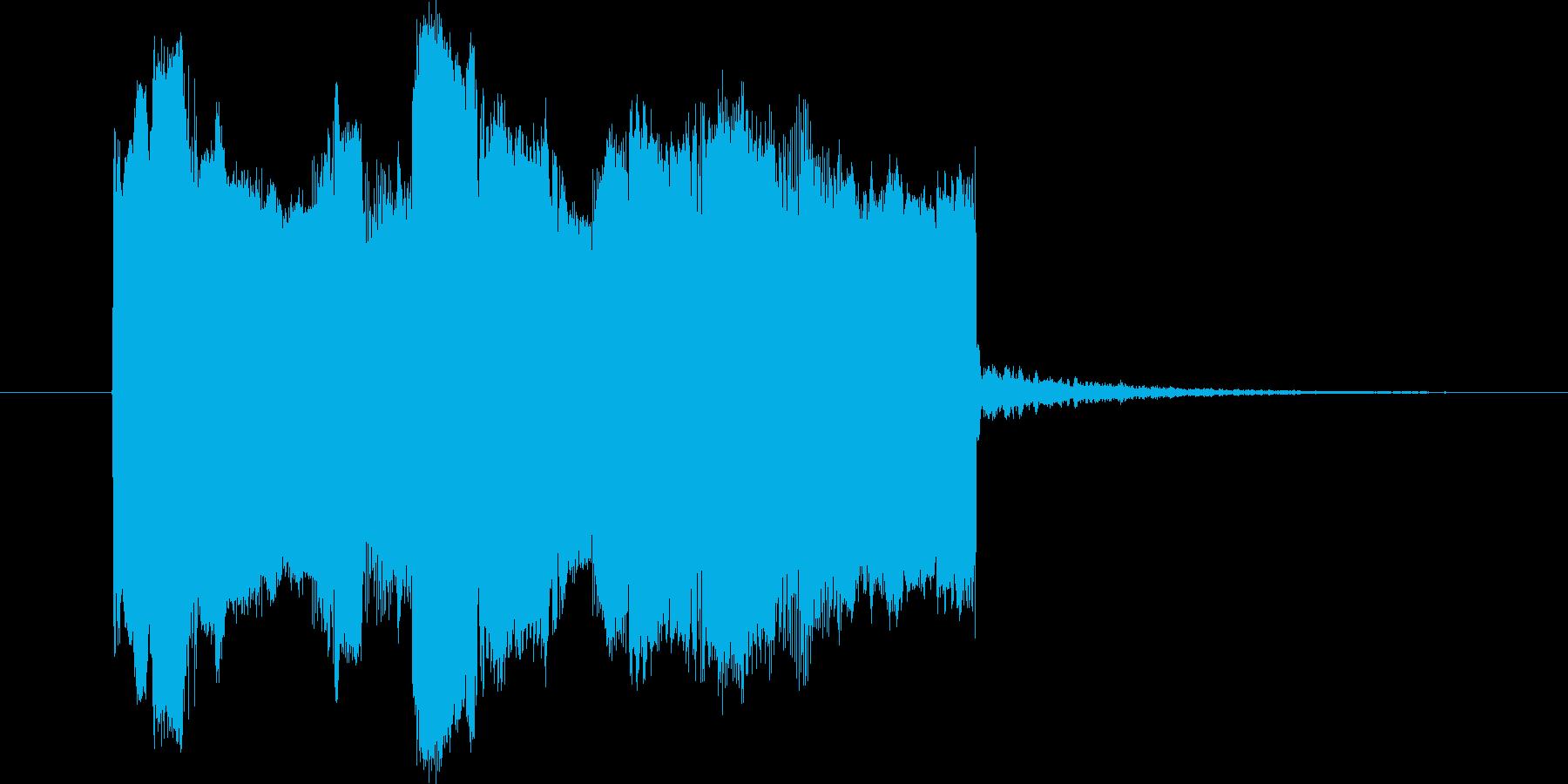 海外ケータイ着信音の定番をギターで再現!の再生済みの波形