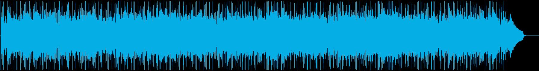 穏やかでしっとりしたエレピバラード曲の再生済みの波形