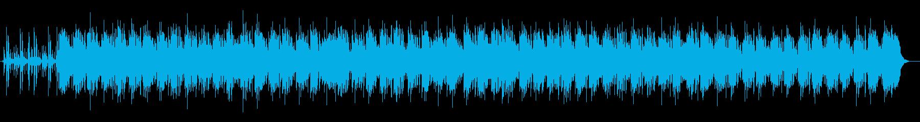 幻想的で煌びやかなヒーリングミュージックの再生済みの波形